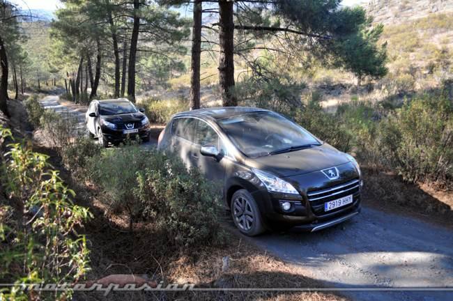 Comparativa Nissan Qashqai y Peugeot 3008 02