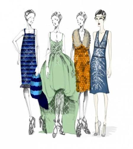 """Moda de cine: Miuccia Prada diseña el vestuario de la película """"El Gran Gatsby"""""""