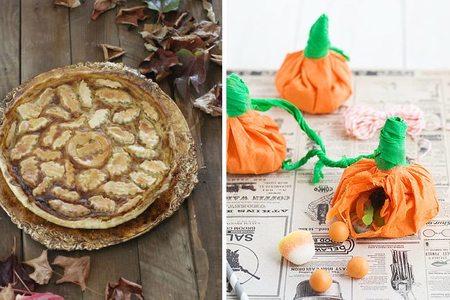 Decoraciones y recetas de Halloween para los más pequeños