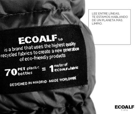 Ecoalf etiquetas ropa
