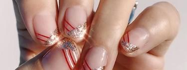 Tres ideas de manicuras preciosas y tan fáciles que podrás hacerte justo antes de la cena de Nochebuena