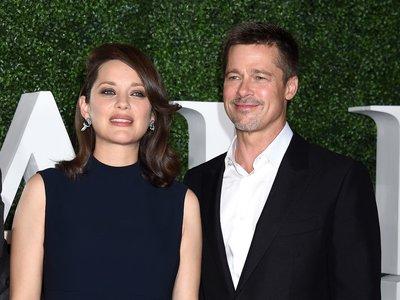 Marion Cotillard y Brad Pitt por fin posan juntos en el estreno de Aliados