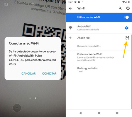Android Q use 'Wifi Easy Connect' as a substitute to the vulnerable