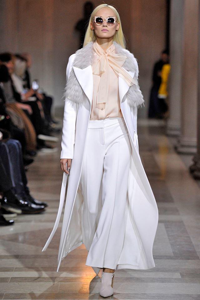 Carolina Herrera Otoño-Invierno 2016/2017 den la Semana de la Moda de Nueva York