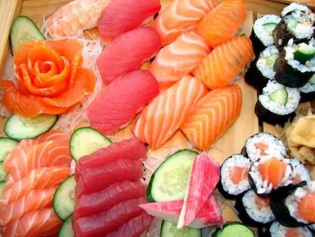 Sushi y embarazo