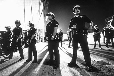 policía Los ángeles 1992