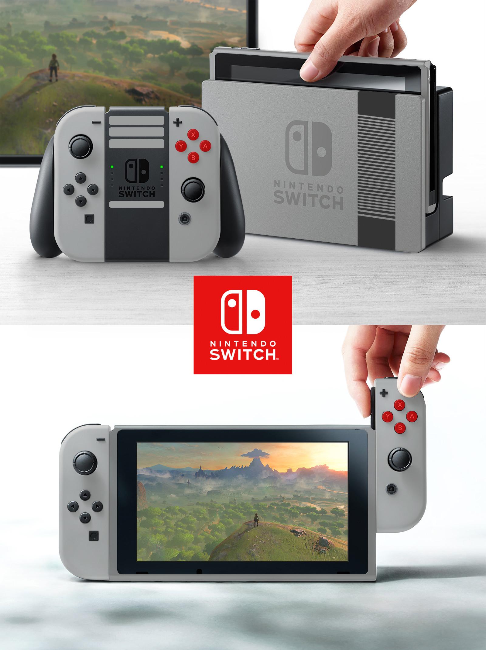 Foto de Nintendo Switch reimaginada por un fan (3/9)