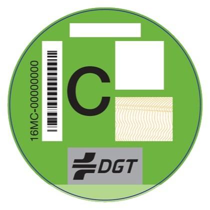 Etiqueta Dgt C