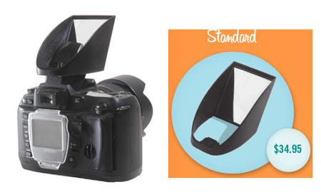 Lightscoop, reflector para el flash integrado de la cámara