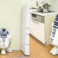 Este R2-D2 se mueve y habla como el original y además enfría las bebidas y proyecta imágenes