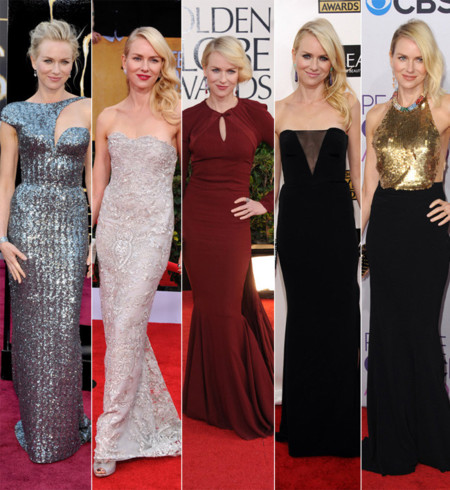 Naomi Watts mejores looks 2013