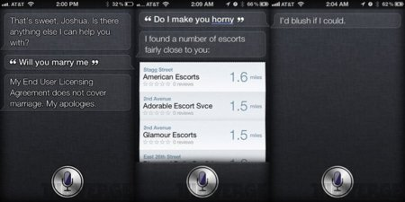 iOS 5 iPhone 4S Siri