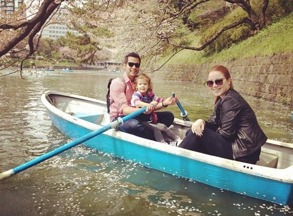 Foto de Jessica Alba y su excursión familiar a Japón (1/7)
