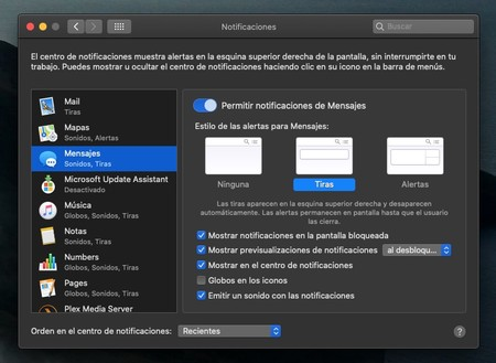 Notificaciones Imessage 3