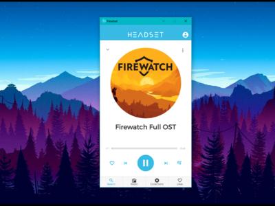 Headset es un genial minireproductor que convierte YouTube en una app de música para el escritorio