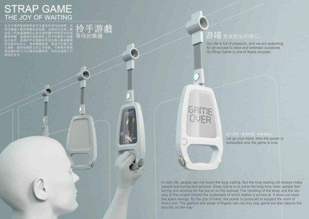 Strap Game, curioso concepto para disfrutar de los viajes en transporte público