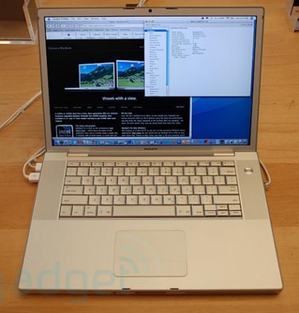 pantalla de los nuevos MacBook Pro