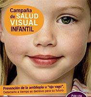 Campaña de Salud Visual Infantil gratuita para detectar la ambliopía
