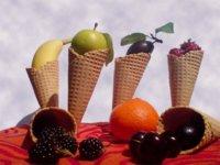 Sorbete de fruta, el mejor aperitivo del verano