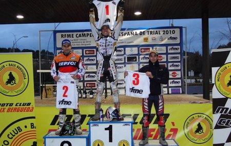Adam Raga, Campeón de España de Trial 2010 en un final agónico