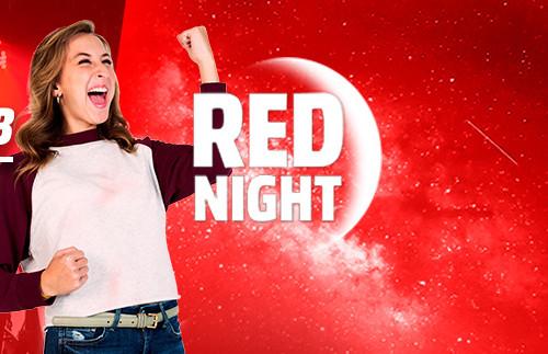Red Night de MediaMarkt: los mejores precios de la Tienda Roja, sólo hasta las 10 de la mañana [Caducada]