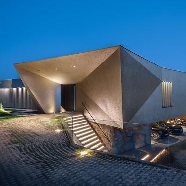 Una vivienda vanguardista y con eco diseño diseñada en Huesca por i2G Arquitectos