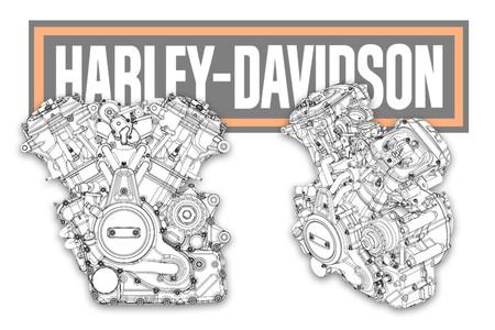 Los motores de las nuevas Harley-Davidson de 2019 serán más compactos que nunca