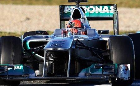 Michael Schumacher, el más rápido tras la segunda mañana de las pruebas de Jerez
