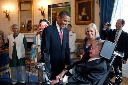 Hawkings Obama