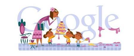 El doodle para el Día de la Madre