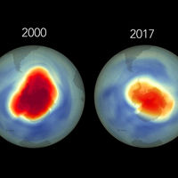 Un agujero se cierra: la evolución de la capa de ozono durante los últimos treinta años, en un vídeo