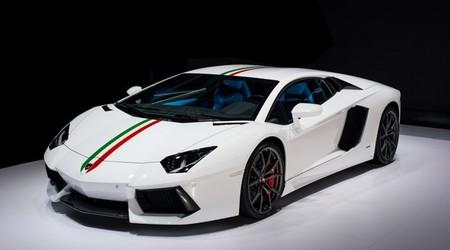 Lamborghini Aventador LP 700-4: edición especial 'Nazionale'