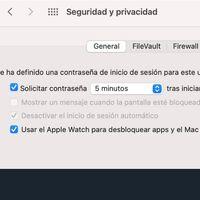 Cómo desbloquear macOS con tu Apple Watch