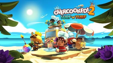 Overcooked 2 recibe nuevos desafíos con su DLC Surf 'n' Turf y un nuevo nivel de dificultad con una actualización gratuita