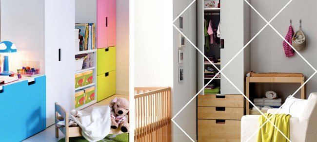 Catálogo ikea 2012 - novedades para niños - almacenaje