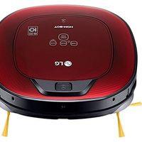 Oferta flash en el robot aspirador LG VR8602RR Hombot Turbo Serie 9+: hasta medianoche cuesta 299 euros en Amazon