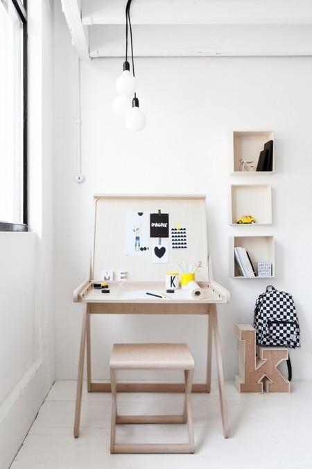 K desk, un escritorio práctico y divertido para los peques de la casa de Rafa Kids