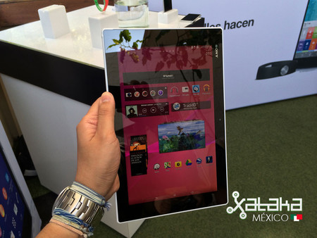 Sony Xperia Z2 Tablet Mexico