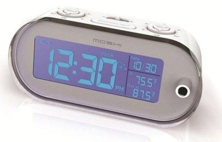 Moshi, un reloj despertador con control por voz