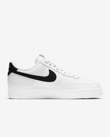 Nike Air Force 1 07 Con Negro Nike
