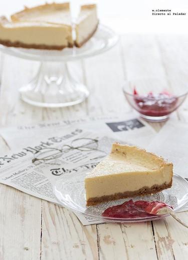 Receta de cheesecake al estilo neoyorquino
