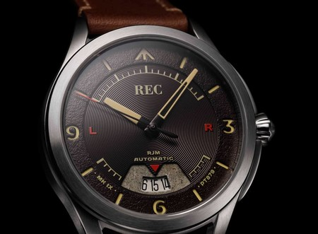 La Firma Relojera Rec Crea Disenos Excepcionales Con Piezas De Un Spitfire De La Segunda Guerra Mundial