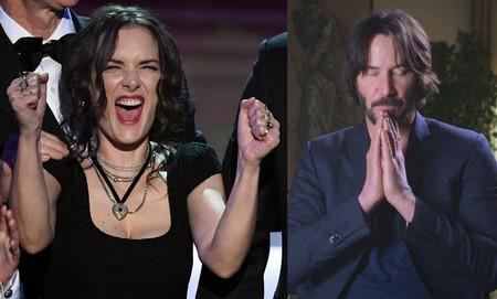 ¡Al fin! Keanu Reeves y Winona Ryder ruedan la comedia romántica a la que estaban destinados desde los 90