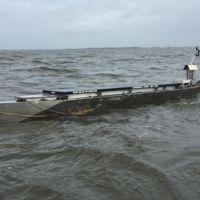 Solar Voyager es un kayak autónomo que ahora mismo está cruzando el Atlántico