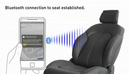 Faurecia SmartFit: un asiento completamente ajustable vía Bluetooth