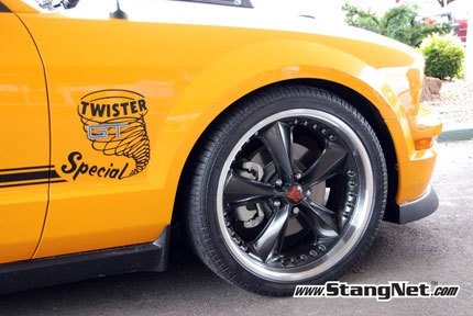 2008 Ford Mustang Twister Special