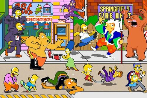 Retroanálisis de The Simpsons Arcade Game, o cuando Konami aplicó chapa y pintura barata a sus Tortugas Ninja