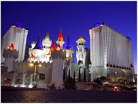El hotel-casino Excalibur en Las Vegas. Tus fotos de viaje