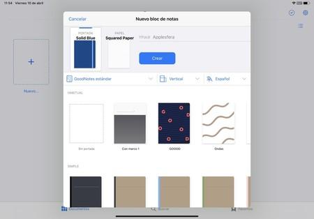 GoodNotes 5 para iPad