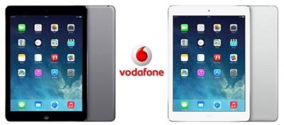 Precios iPad Air con Vodafone